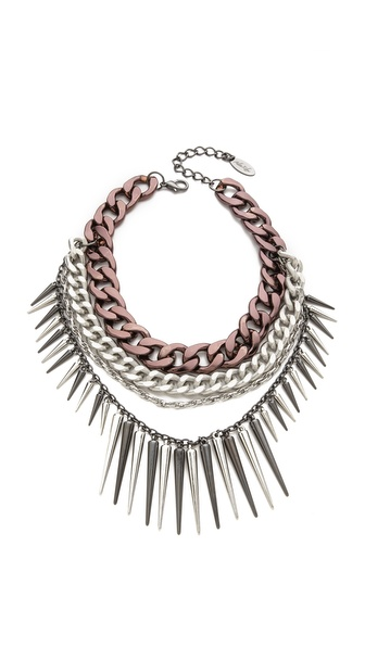 Adia Kibur Spike Necklace