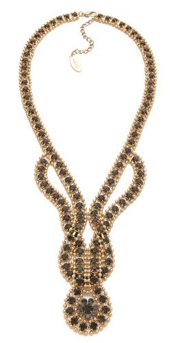 Adia Kibur Loop in Loop Necklace