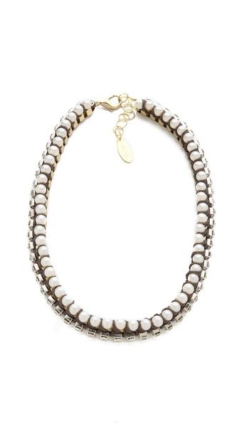 Adia Kibur Chiffon Chain Necklace
