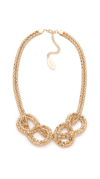 Adia Kibur Knot Necklace