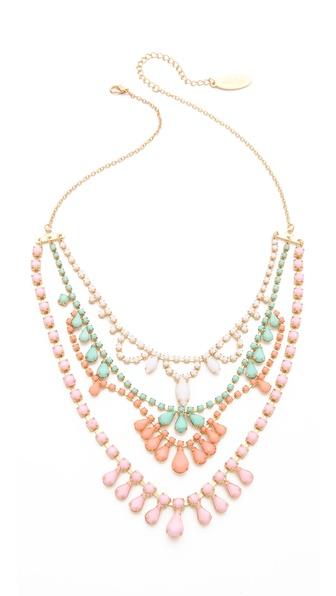 Adia Kibur Layered Stone Necklace