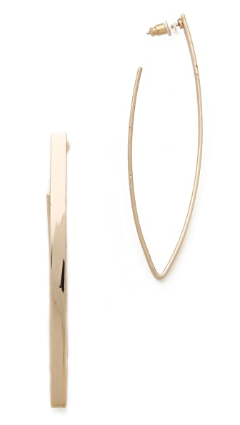 Adia Kibur Pointed Earrings