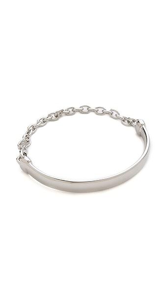 Adia Kibur Plate & Chain Bracelet