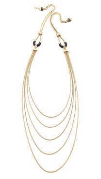 Adia Kibur Long Layered Necklace