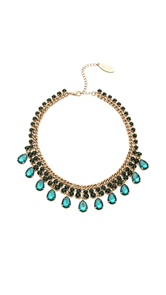 Adia Kibur Teardrop Jewel Necklace