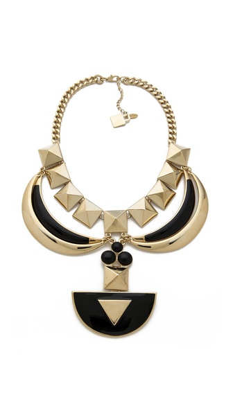 Adia Kibur Geometric Statement Necklace
