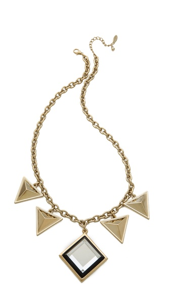 Adia Kibur Triangle Drop Necklace