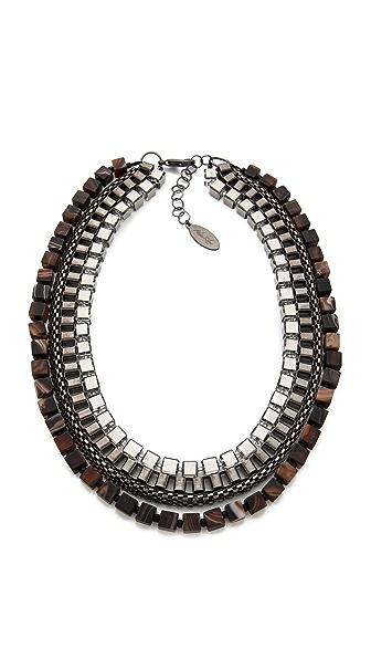 Adia Kibur Multi Layer Necklace
