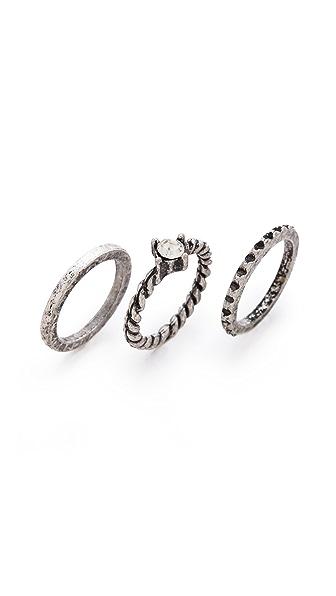 Adia Kibur Stackable Midi Ring Set