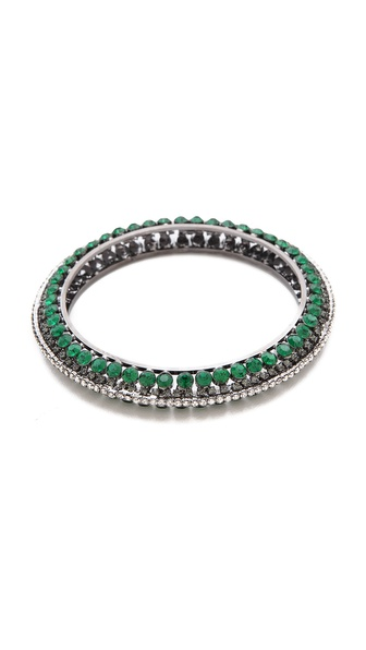 Adia Kibur Gemstone Bangle Bracelet