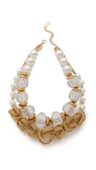 Adia Kibur Double Layered Necklace