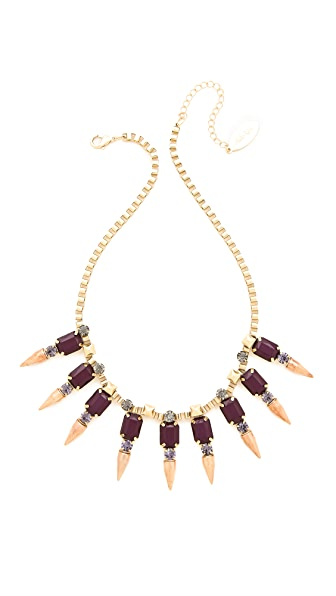 Adia Kibur Spike Pointed Necklace