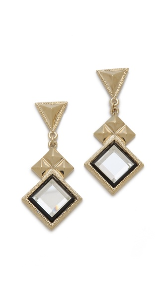 Adia Kibur Geometric Drop Earrings