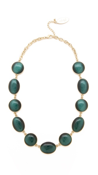 Adia Kibur Cabochon Timeless Necklace