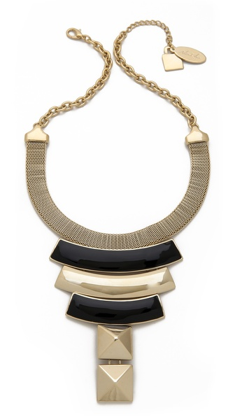 Adia Kibur Modern Plate Necklace