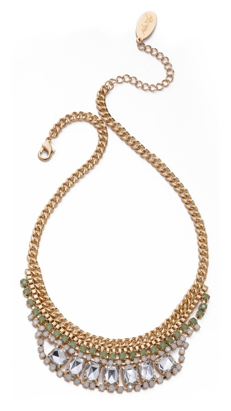 Adia Kibur Short Crystal Necklace