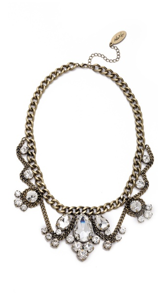 Adia Kibur Crystal Choker Necklace