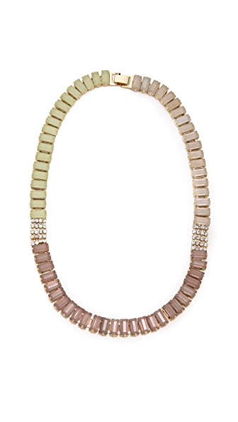Adia Kibur Rectangle Link Necklace