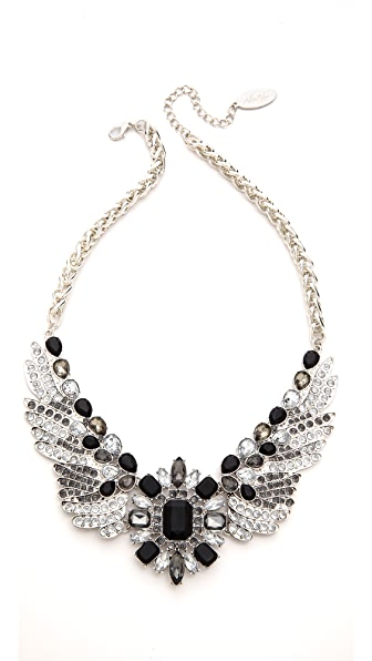 Adia Kibur Crystal Wing Necklace