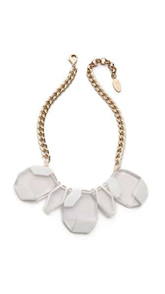 Adia Kibur Large Crystal Necklace