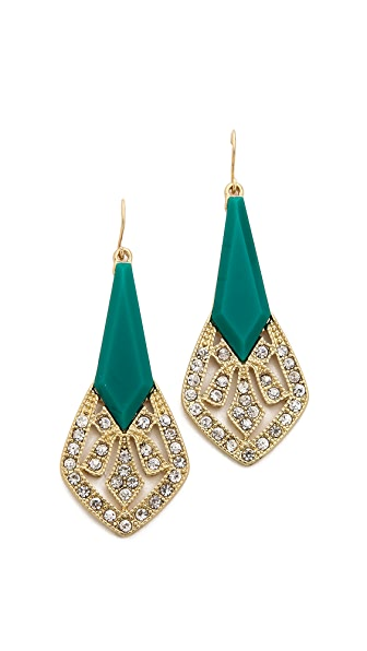 Adia Kibur Crystal Embellished Earrings