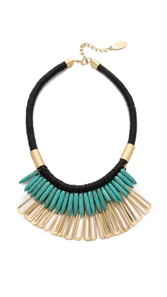 Adia Kibur Tribal Statement Necklace