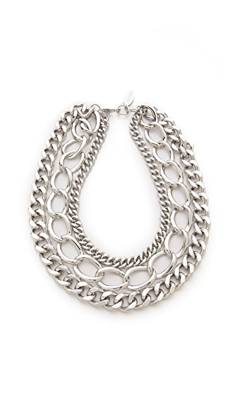 Adia Kibur Chain Layer Necklace
