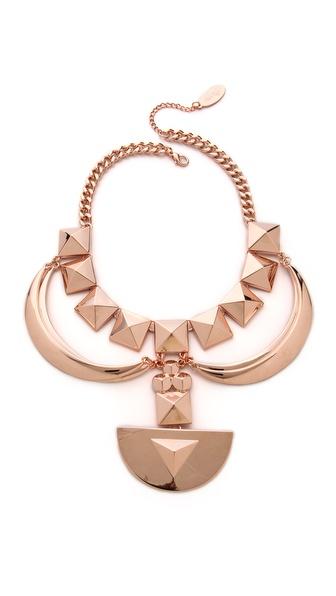 Adia Kibur Shield Statement Necklace