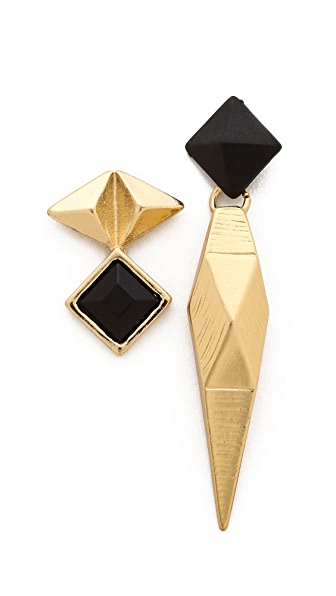Adia Kibur Asymmetrical Earrings