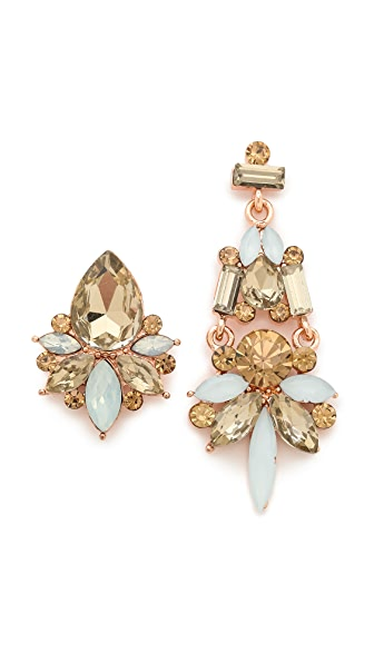 Adia Kibur Pastel Asymmetrical Earrings