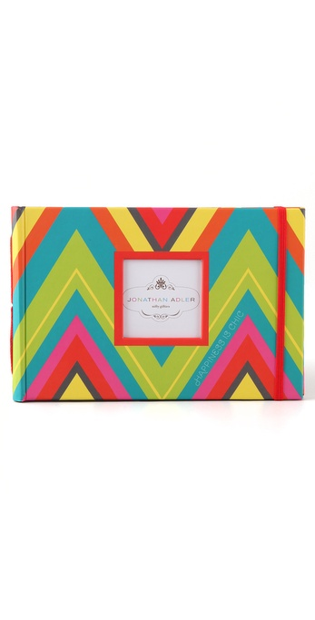 Jonathan Adler Chevron Photo Book