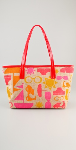 Jonathan Adler Jet Set Icons Duchess Tote