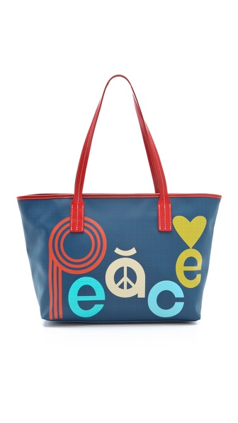Jonathan Adler Duchess Peace / Love Tote