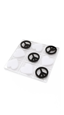 Jonathan Adler Peace & Love Tic Tac Toe Set