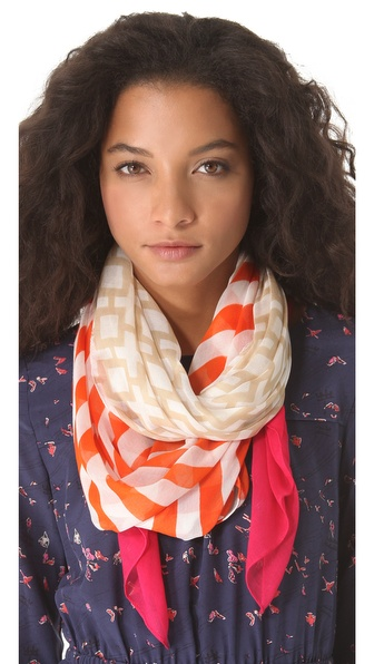 Jonathan Adler Nixon Stripe Oblong Scarf