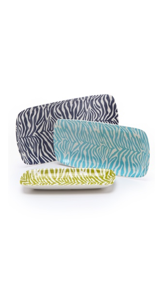 Jonathan Adler Carnaby Zebra Nesting Trays