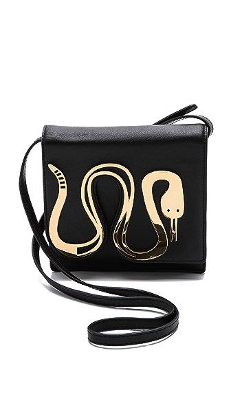 Jonathan Adler Vera Snake Cross Body Bag
