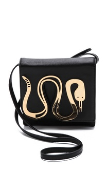 Jonathan Adler Vera Snake Cross Body Bag