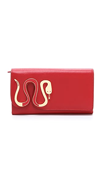 Jonathan Adler Snake Flap Wallet