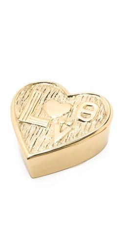 Jonathan Adler Brass Love Box