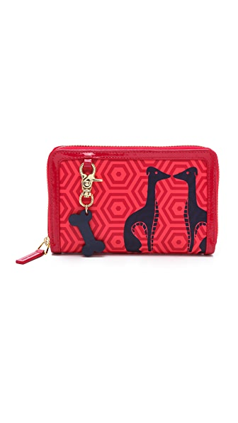 Jonathan Adler Smart Phone Continental Zip Wallet