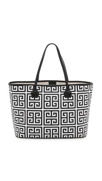 Jonathan Adler Greek Key Duchess Medium Tote
