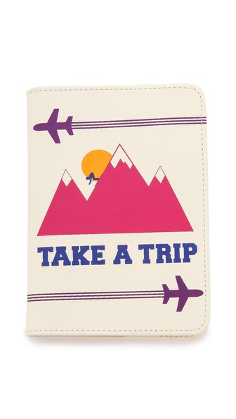 Jonathan Adler Take a Trip Passport Case