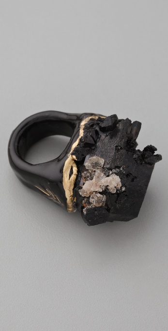Adina Mills Design Black Tourmaline Ring