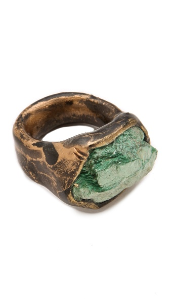 Adina Mills Design Fuschite Pinky Ring