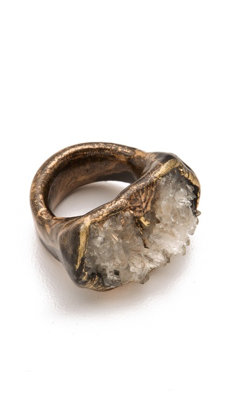Adina Mills Design Quartz Pinky Ring