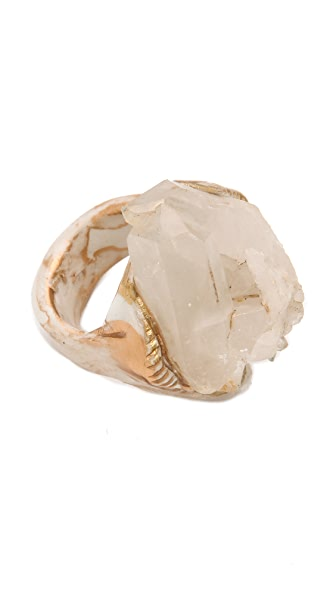 Adina Mills Design Small Quartz Cluster Ring