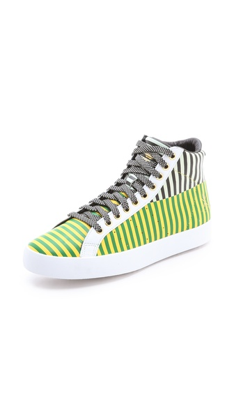 Adidas x Opening Ceremony Rod Laver Hi Sneakers