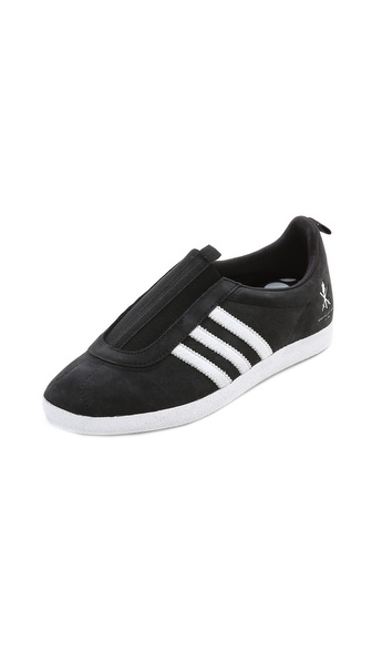 Adidas X Opening Ceremony Taekwondo Gazelle Slip On Sneakers - Black at Shopbop / East Dane