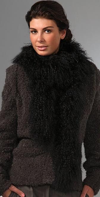 Adrienne Landau Mongolian Boa